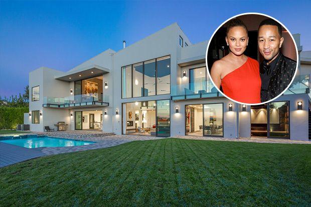 Tour John Legend & Chrissy Teigen's $14M Beverly Hills House | House & Home