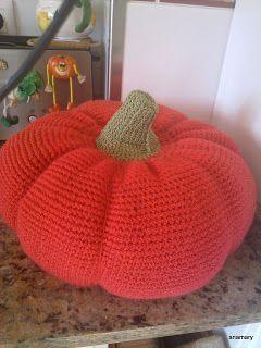 ganchillo y tricot...anamary: en halloween...calabazas