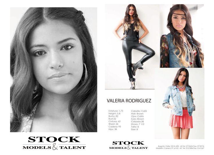 Valeria Rodríguez - Modelo Stock Models