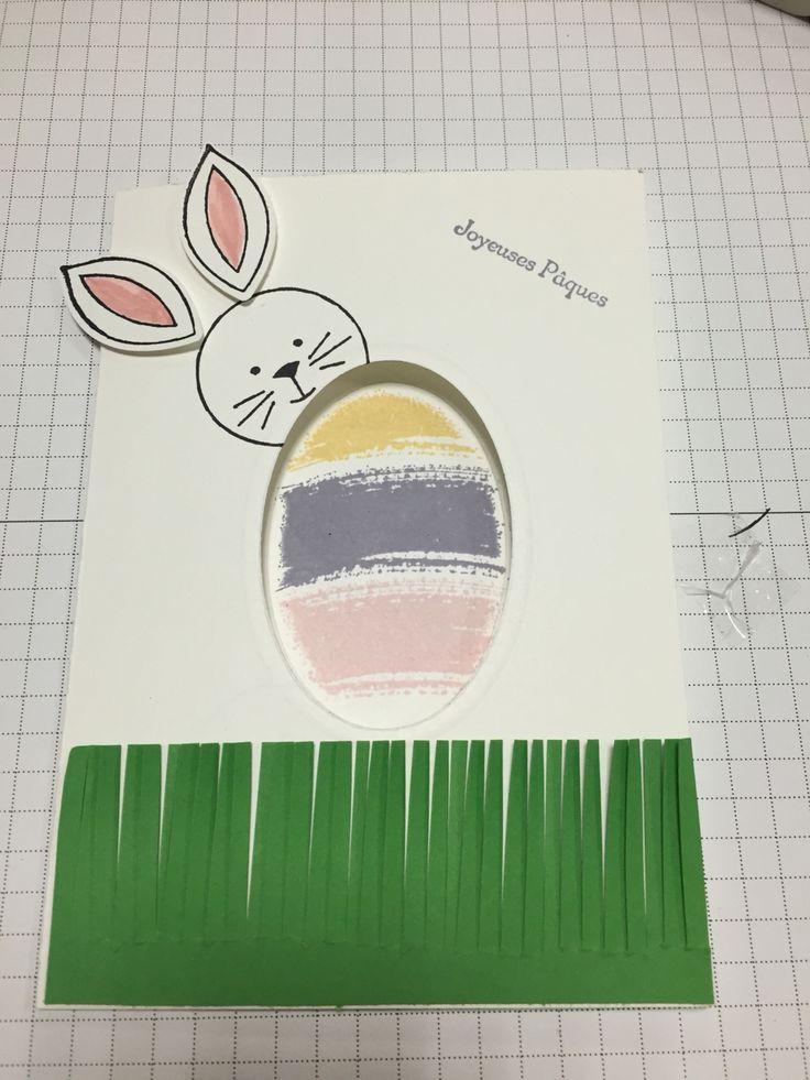Petite carte de Pâques