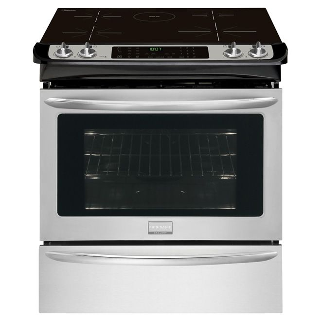 Frigidaire Slide In Induction Range 4 6 Cu Ft Cgis3065pf Rona Frigidaire Gallery