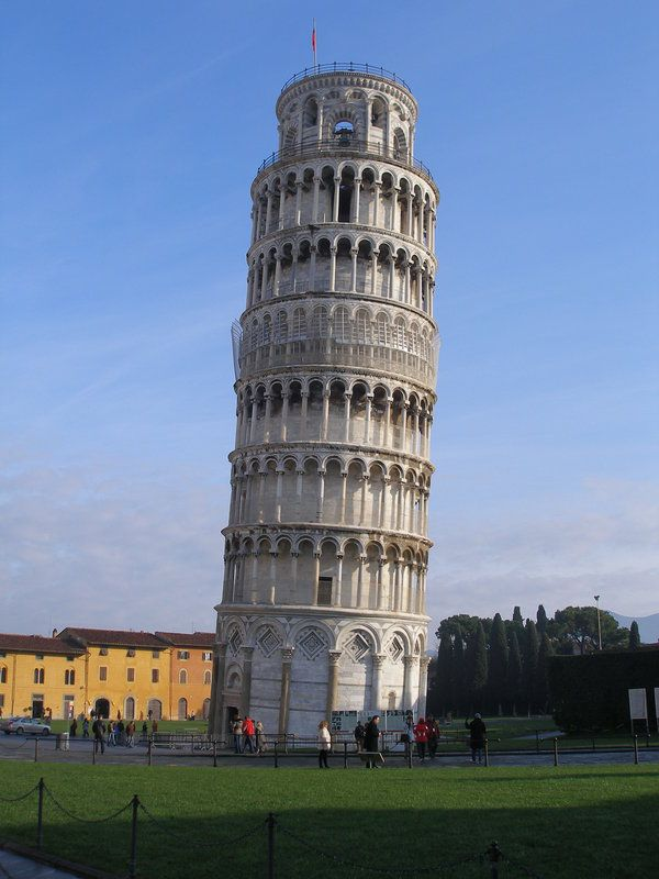 Tower of Pisa, Italy  | The 100 Most Famous Landmarks Around The World #travel