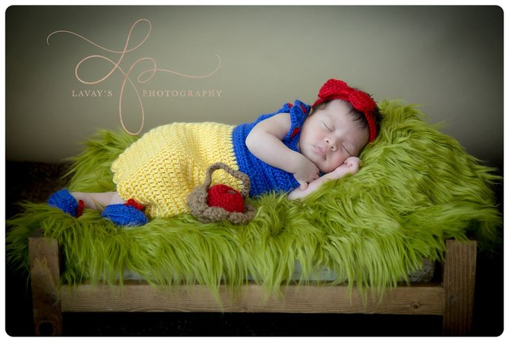 crochet Disney's Snow White inspired princess dress sizes