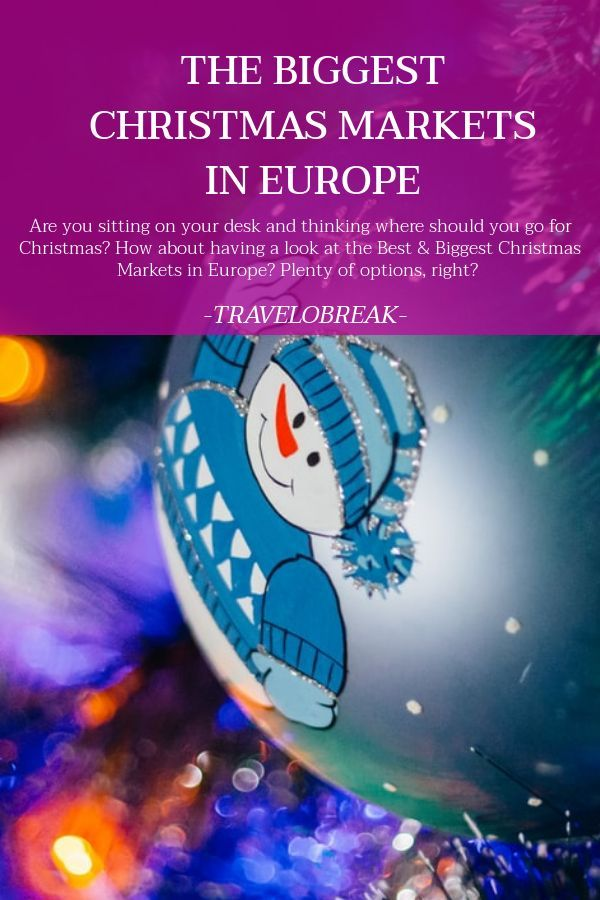Where Should I Go For Christmas 2020 Best & Biggest Christmas Markets In Europe in 2020 | Christmas
