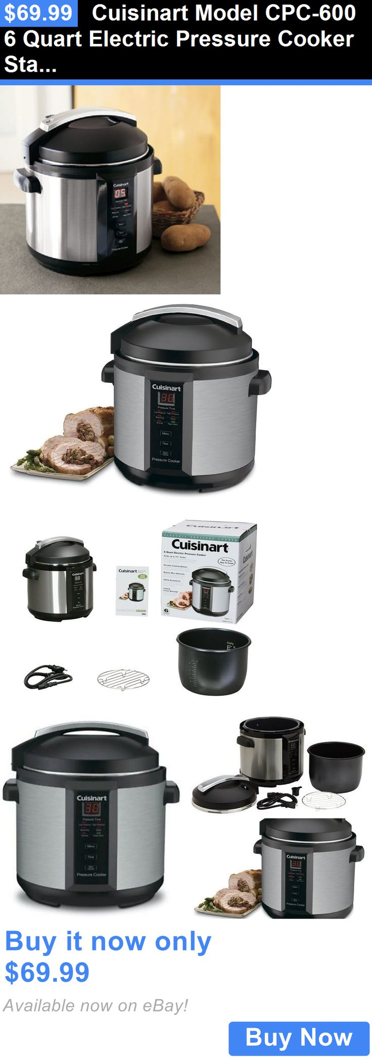Kitchen small appliance circuit - Small Kitchen Appliances Cuisinart Model Cpc 600 6 Quart Electric Pressure Cooker Stainless Steel