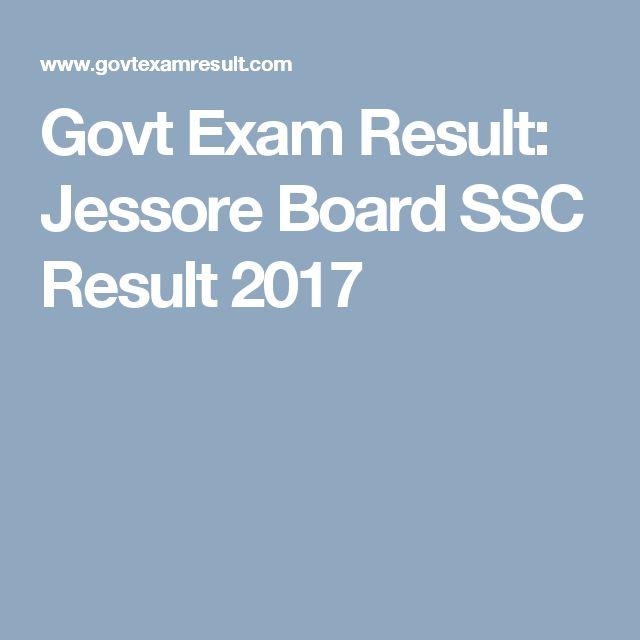 Govt Exam Result: Jessore Board SSC Result 2017