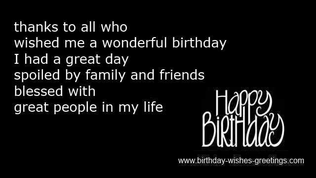 Thanks For Happy Birthday Wishes Quotes: 17 Best Images About Birthday Cards On Pinterest