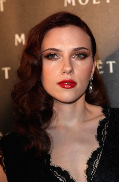 @Bethany Sawyer - Scarlett Johansson with gorgeous long, dark hair!: Hair Colors, Scarlett Johansson, Long Hairstyles, Hairstyles Pictures, Makeup, Attractive Hairstyles, Beauty, Scarlett Johanson