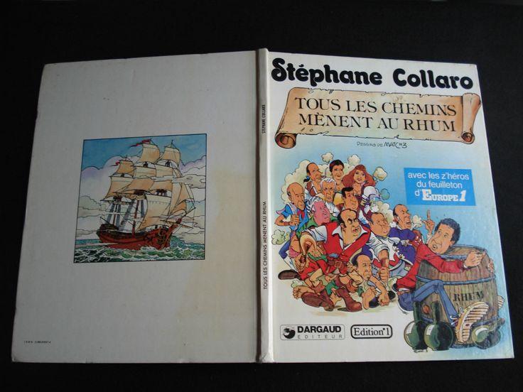 BD STEPHANE COLLARO EDITION 1979 TOUS LES CHEMINS MENENT AU RHUM | Livres, BD, revues, BD, Albums | eBay!