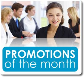 Promotions of the Month