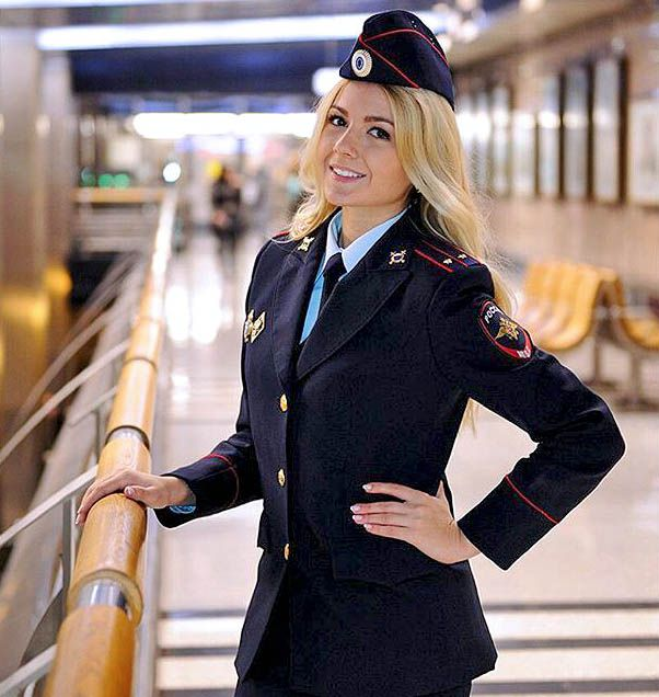 #russian #Russia Russian womans police Russian girls police - Russian army русские девушки полицейские - российская армия