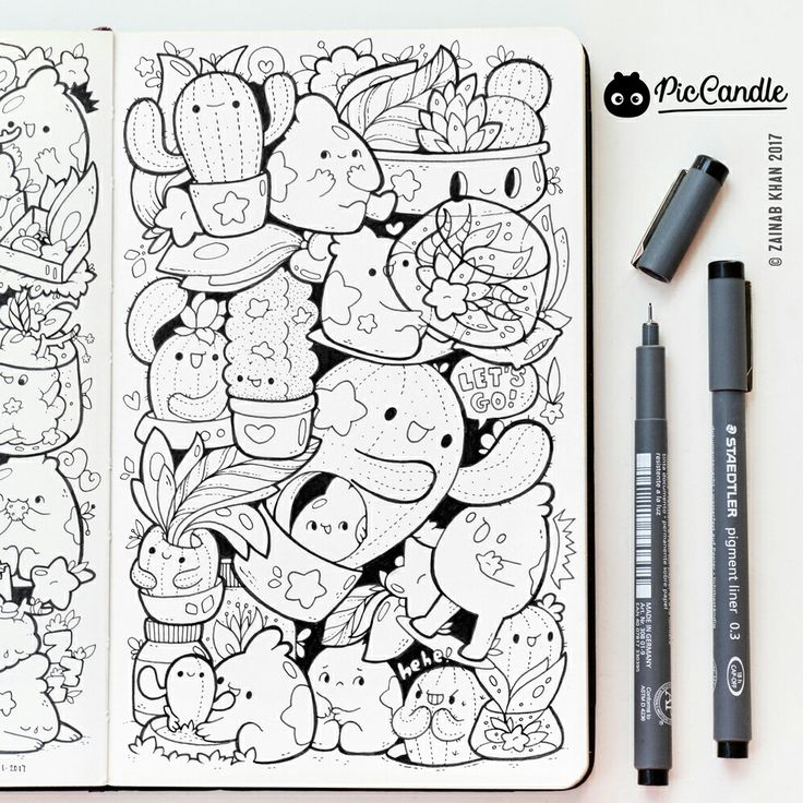 575 best images about doodles drawings on pinterest for Doodle characters