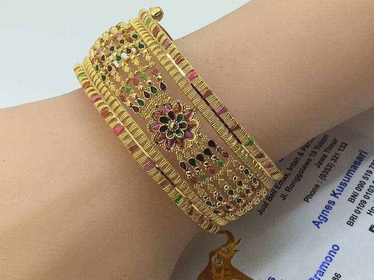 22k / 91,6% Gold Dubai Maharaya Bracelet 53,80gr diameter 5,8cm