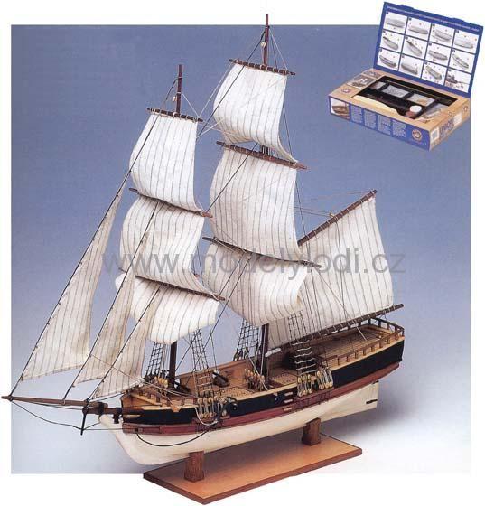 Dřevěné stavebnice | Pro začínající modeláře | Union | Modely lodí, stavebnice, vystřihovánky