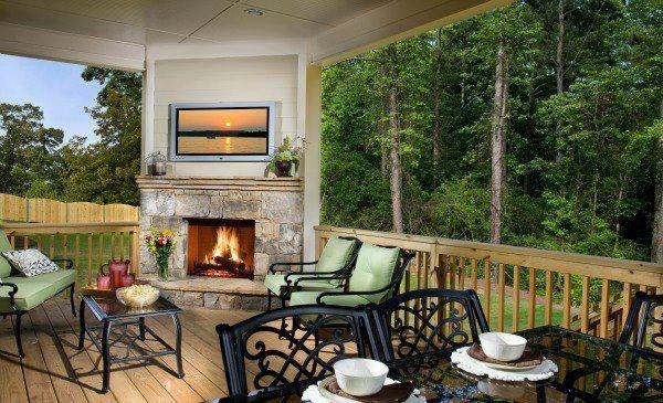 Outdoor living...  Via Lennar