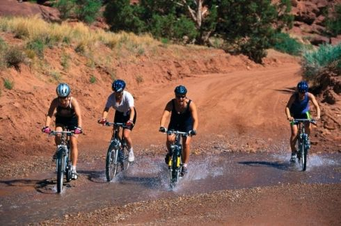 Mountain Biking - This area tucked between the Swartberg Mountain range to the north and the Langeberg Outeniqua range in the south is just waiting to be explored on a Mountain Biking Adventure. Tackle the many mountain passes, explore the quaint settlements or just revel in the famous South African hospitality on the many tracks offered on private farms.