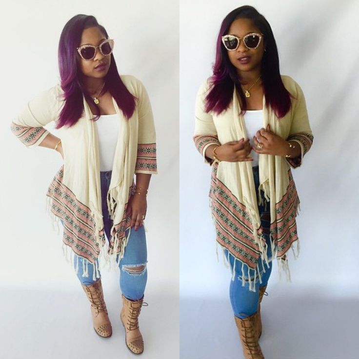Reginae Carter Celebrity Kids Winter Fashion Throw Shawl ...