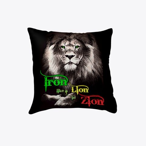 Iron, Lion, Zion, Reggae Throw Pillow  Orders are printed and shipped when the time expires or earlier. You can expect your package to arrive 9 - 12 business days after the time expires. Expedited or Rush shipping may be available depending upon the product(s) selected and the destination country. Shipping costs start at:      €4.99 for the first item and €2.00 for each additional item.  Products are fulfilled in the US Return Policy If you're not 100% satisfied, let us know and we'll make…