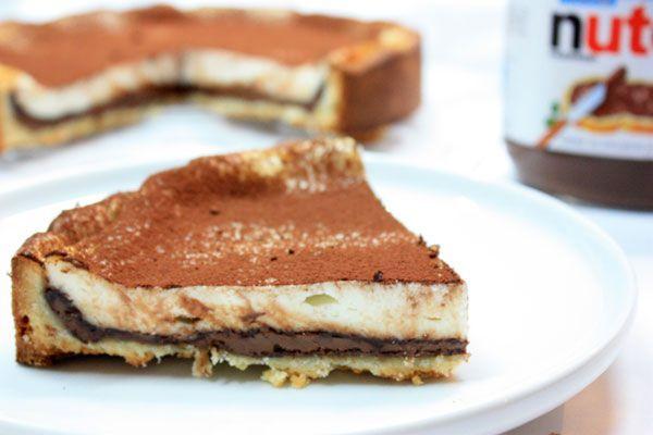 Ricetta Crostata nutella e ricotta - I menù di Benedetta