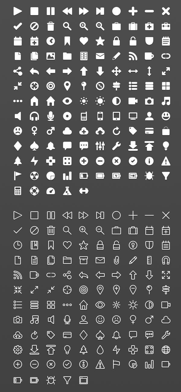 UI Designer Web Icons Bundle by ~tmthymllr on deviantART