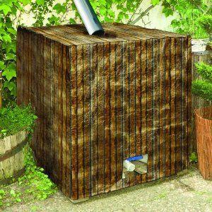 Vintage Regenwassertank Ibc Container Oberirdisch Aus Kunststoff Garten
