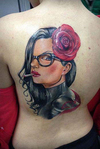 Eduard Virlan Realistic Tattoo Artist