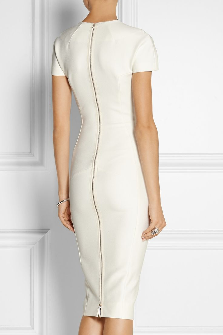 Victoria Beckham | Stretch-crepe dress | NET-A-PORTER.COM