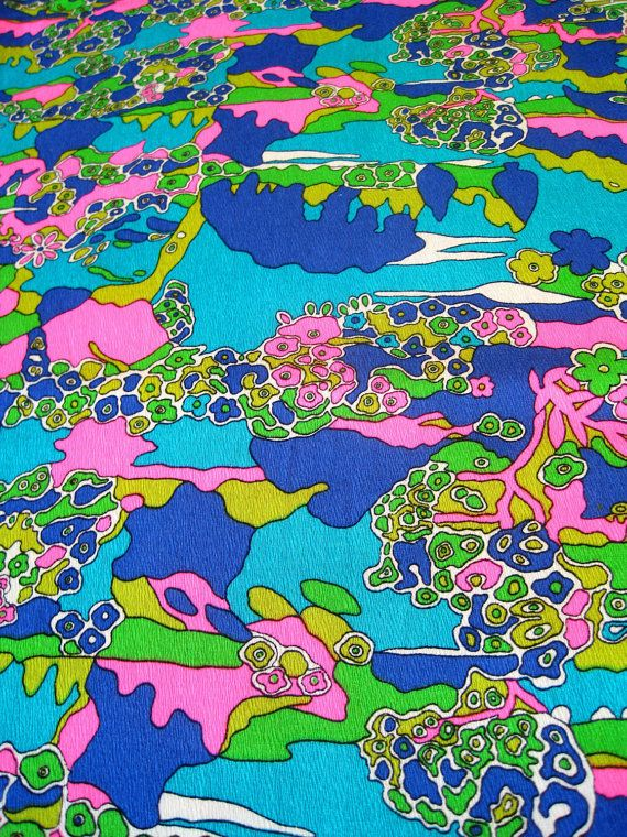 16 best images about psychedelic fabric prints a child of for Kids pattern fabric