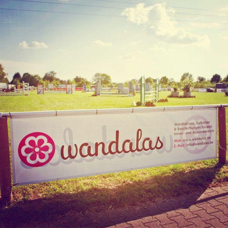 PVC Banner - wandalas - Logo - sticker - decal - Beschriftung - Plane - Nature