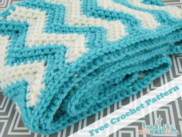 Free Chevron Infinity Scarf Crochet Pattern | CRAFTS - Crochet ...
