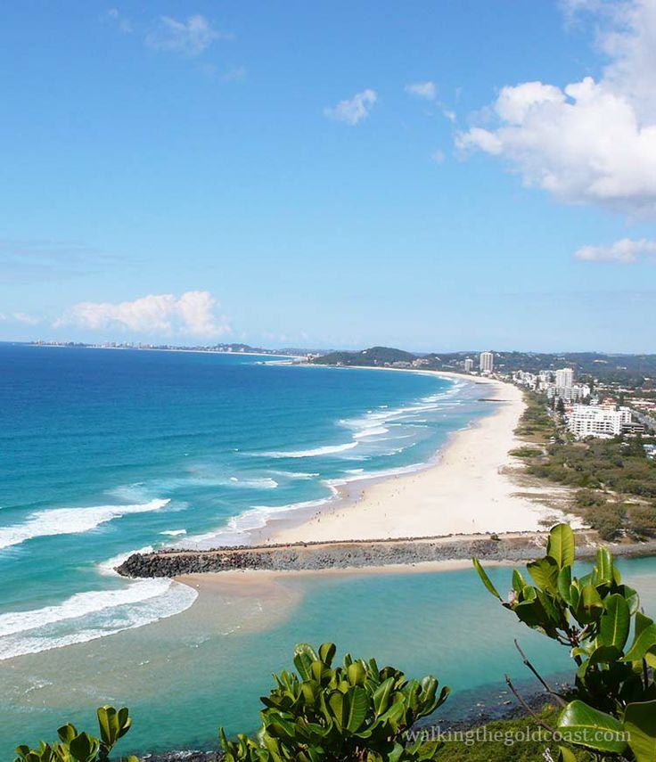 #Burleigh Headland National Park is a fabulous place to walk.