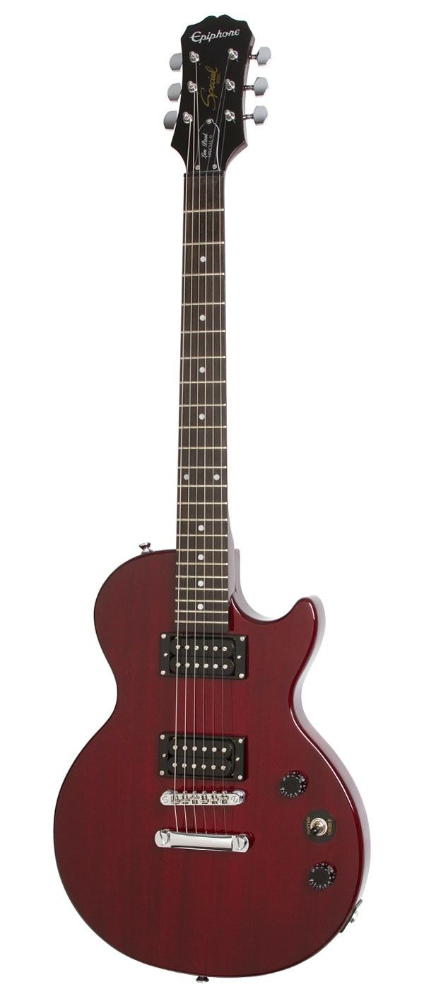 Epiphone Les Paul Special-II Wine Red--->I've had my eye on this one for a while