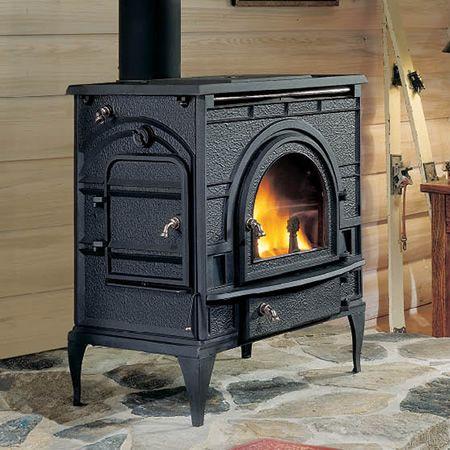 Dutchwest Catalytic Wood Burning Cast Iron Stove Extra Large