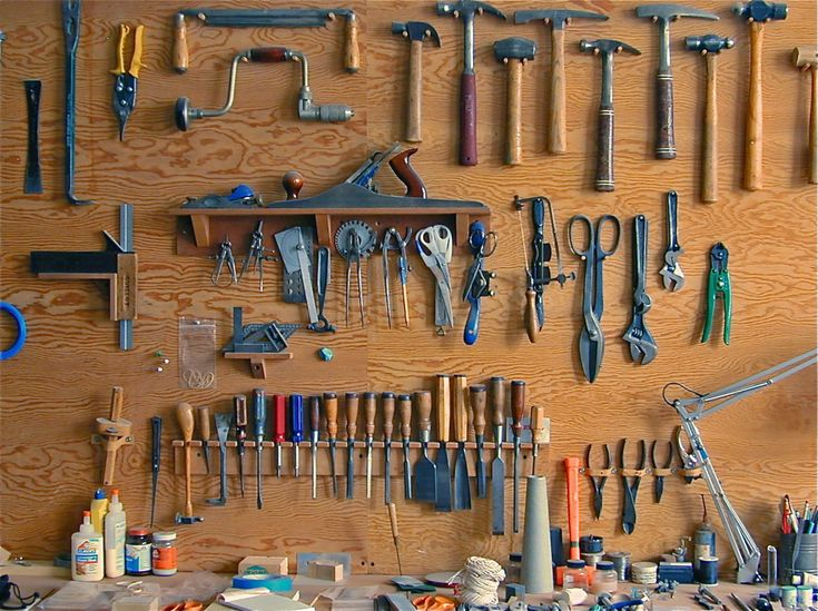 SUBMISSION: Robert Guillot - tool wall (1998) from my previous studio in Brooklyn