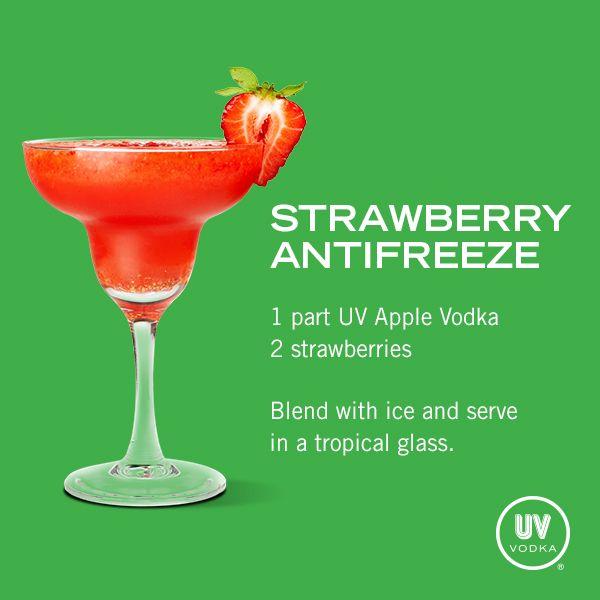 UV Vodka Recipe: Strawberry Antifreeze.... What you gonna kill someone?!