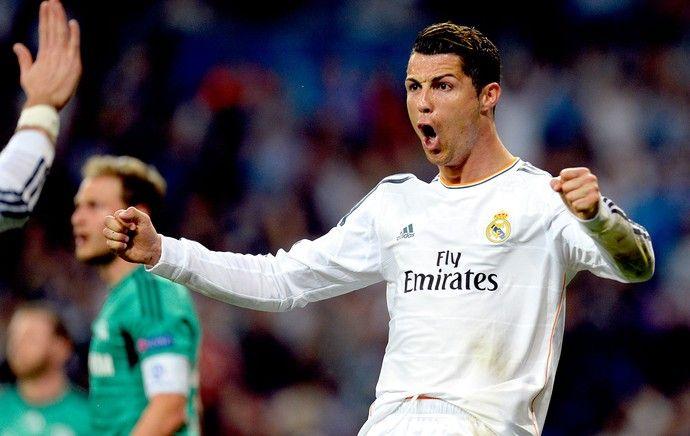 Cristiano Ronaldo gol Real Madrid contra Schalke Liga dos Campeões 3 x 1 18.03.2014