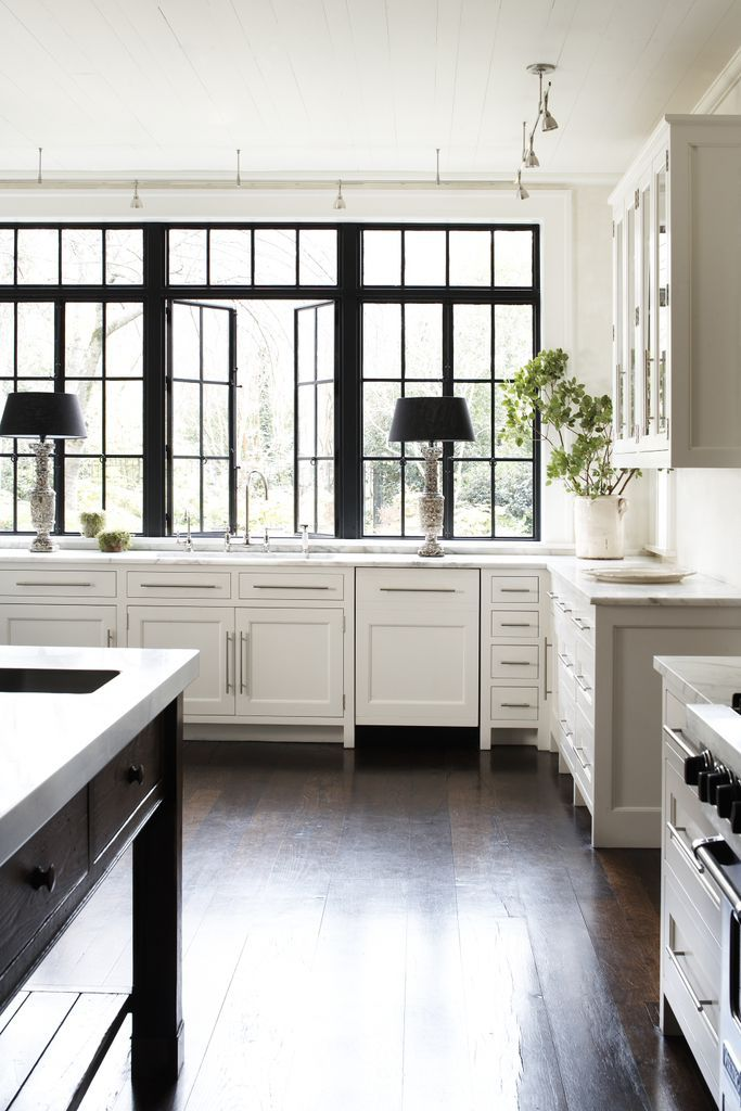 Iron Windows // Carter Kay Interiors // Atlanta, Georgia
