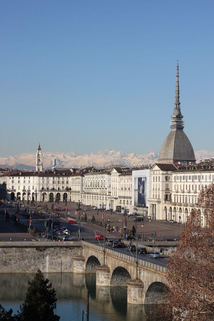 Il Cielo Sulla Mole, Torino, Piemonte, Italy