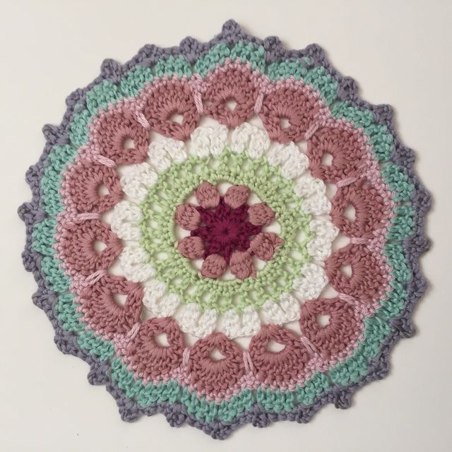 ... Crochet Health on Pinterest Crochet Mandala, Mandalas and Crochet