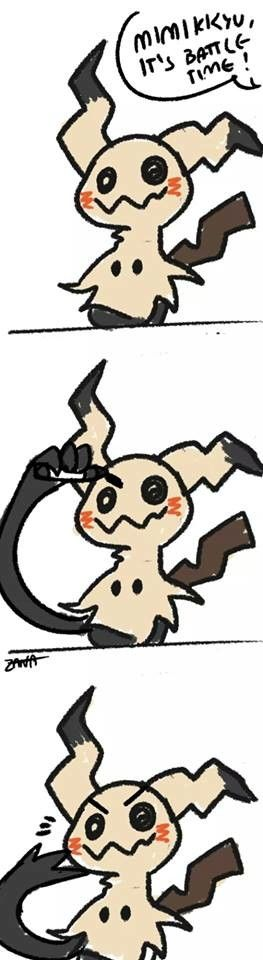 (149) - mimikkyu New Pokemon
