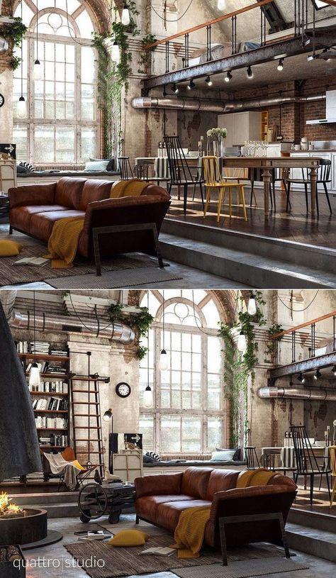 Home Designing – (über 40 unglaubliche Lofts, die Grenzen verschieben