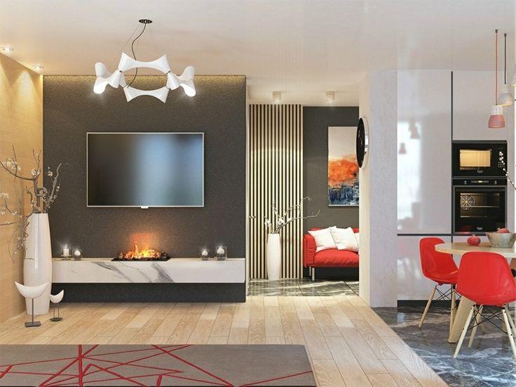 interesting best lambris mural design et panneaux dco en lamelles de bois with deco mural salon with idee deco lambris mural