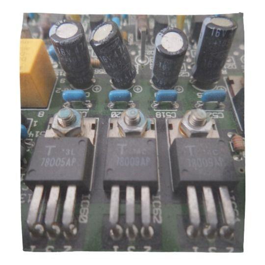 #zazzle #Transistor #Circuit #Bandana #head #gift #giftidea