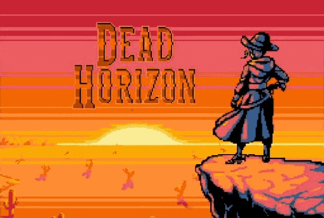 Dead Horizon - an awesome light gun inspired western adventure! #gaming #games #indiegame #indiegames #free #indie #pixelart