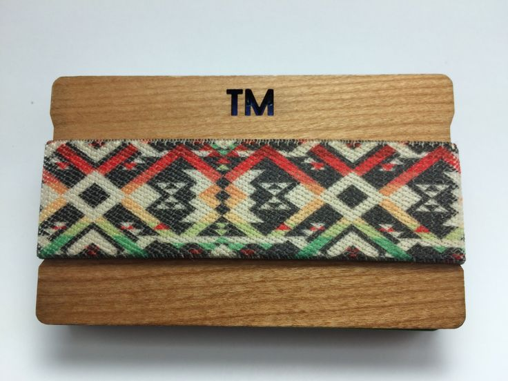 Great Gift For Men & Women | Wedding Birthday Anniversary Gift/ Tribal Band - Cool Unique Minimal Modern Unisex Wooden Wallet Card Holder by ThompsonsTaxonomy on Etsy