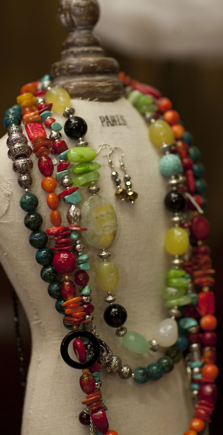 Bellissimo Port Douglas Jewellery, Red Coral, Agate, Turquoise, Chrysophase