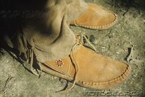 How to Make Leather Moccasins