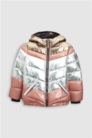 4f0dba0395c7 563-323 - Metallic Short Padded Jacket (3-16yrs) | Haidyns clothes ...