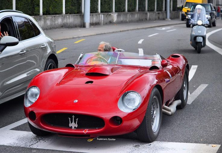 Maserati 450 S - Yes, I'll take one...you don't even have to change a thing...beautiful.