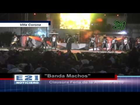 Presentación Banda Machos en Villa Corona - YouTube